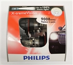 Philips 9008 H13 X-treme Vision Bulbs OEM 9008XVS2