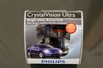 Philips H11 Crystal Vision Ultra Bulbs OEM