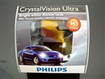 Philips H3 Crystal Vision Ultra Bulbs OEM