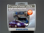 Philips H4 HB2 9003 Crystal Vision Ultra Bulbs OEM