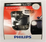 Philips H4 HB2 9003 X-treme Vision 9003XVS2 Bulbs