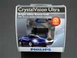 Philips H7 Crystal Vision Ultra Bulbs OEM