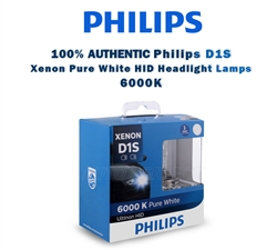 Genuine Philips Ultinon Xenon Bulb D1S 6000K HID