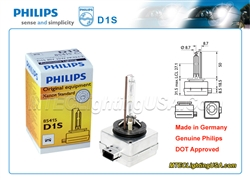 PHILIPS D1S 85415 C1 XENSTART XENON HID LIGHT BULB