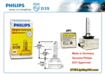 PHILIPS D3S 42302 C1 XENSTART XENON HID LIGHT BULB