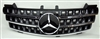 Mercedes Benz W164 ML Front Hood Black Grill
