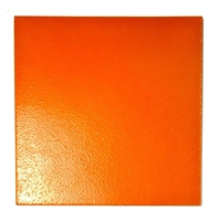 12x 12 Natural Hues Mango Orange Non-Slip Finish Ceramic Tile