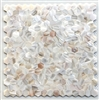 "White Mother of Pearl Genuine Shell Mosaic Tile Hexagon 12""x12"" Wall Backsplash"