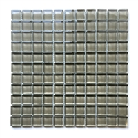 1X1 Sierra Glass Mosaic Tile Shiny Glossy Finish
