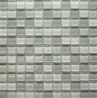 Wild Coast Multi 1x1 Shiny Glass Mosaic