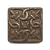 Iron Age Gordion 2x2 Metallic Resin Decorative Insert Accent Piece Art Craft Tile