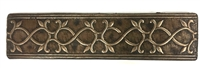 Bronze Metallic 2x8 Resin Decorative insert Tile