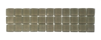 Sierra Glass 3x12 Frosted Decorative Border Wall Floor Tile