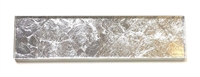 3x12 Belair Glamour Silver Leaf Glass Tile