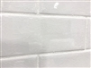 3x9 Vanilla Bean White Crackled Porcelain Tile