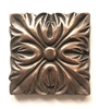Bronze Metallic 4x4 Resin Decorative insert Accent piece Tile
