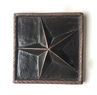 North Star 4x4 Antique Bronze Resin Accent