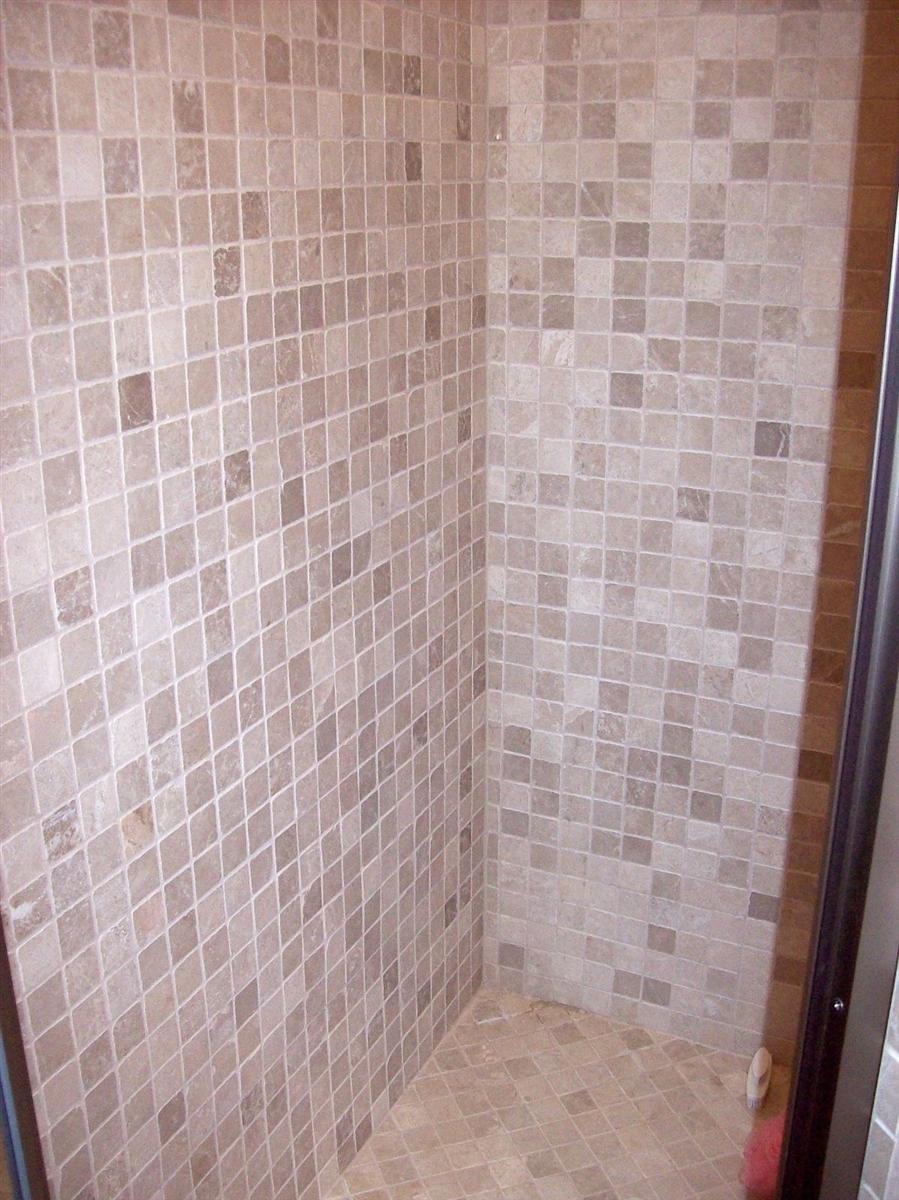- Walnut 4x4 Tumbled Travertine Tile Backsplash Floor Wall
