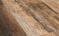 5x24 Rectified Wood-look Oak Porcelain Plank Field Floor Tile