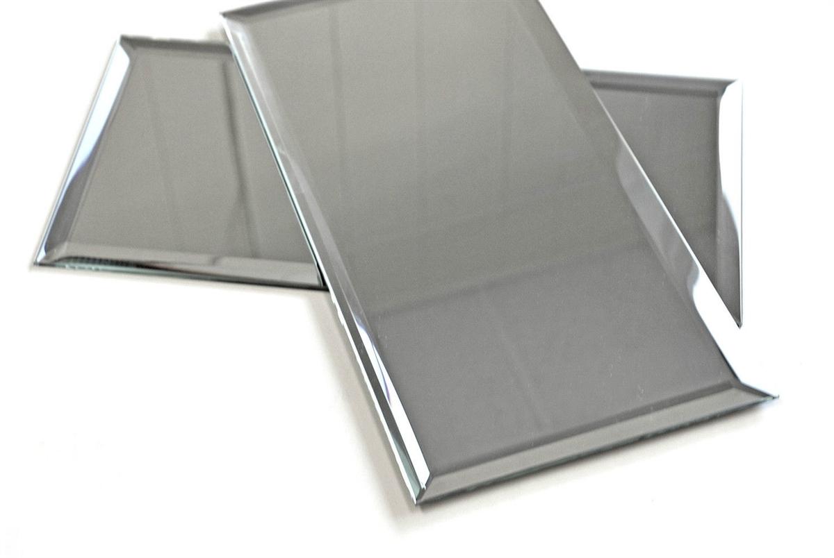 6x12 Wide Beveled Mirror Subway Tile Backsplash Wall Decorative