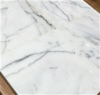 Calacatta 6x6 Polished Marble Wall and Floor Tile
