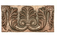 6x12 Firenze Copper Metal Resin Decor Accent Art Craft Tile Backsplash Tile