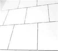 6x6 0799 Matte Pearl White Ceramic Tile