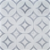 Luna Gray Geo 8x8 Cement Tile