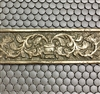 4x12 Godiva Gold Bronze Resin Decor Insert Tile