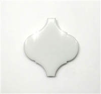"Lantern White 2 7/6""x 3"" Porcelain Tile Decorative Accent Insert Backsplash Wall"