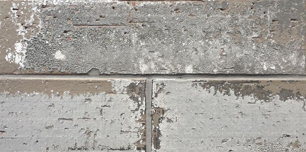2 5x9 5 London Soft Gray Smoke Glazed Extruded Brick Wall
