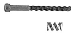 "Associated Motor Clamp Spring and 4-40 x 1.25"" Screw"