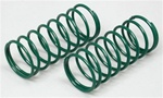 Associated Front Shock Spring/Macro Shock Spring, green, 3.50 lb.