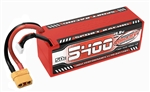 COR49429 5400mAh 14.8v 4S 50C Hardcase Sport Racing LiPo Battery with