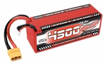 COR49431 4500mAh 22.2v 6S 50C Hardcase Sport Racing LiPo Battery with