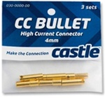 CSECCBUL653 Castle Creations 6.5mm Bullet Connectors