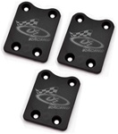 DER210K DE Racing XD Extreme Duty Inferno MP9 series Rear Skid Plates - Package of 3
