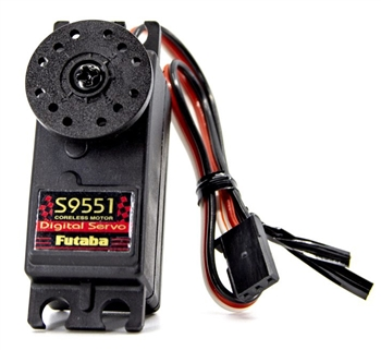 FUT01102226-1 S9551 Digital Coreless Motor Low Profile Metal Gear Servo