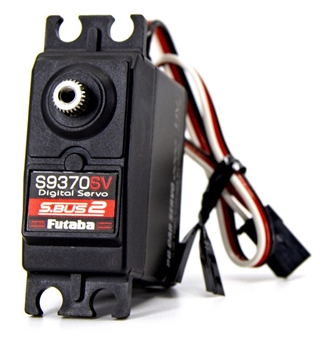 FUT01102232-1 S9370SV S.Bus High Voltage Servo for Surface Vehicles