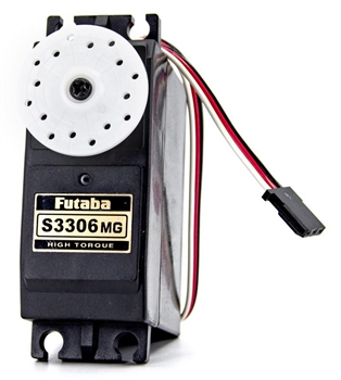 FUT01102255-3 S3306MG Giant Scale Hi-Torque Metal Gear Servo for 1/5 Scale