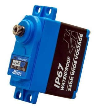 HRC36956 D956WP High Torque, Waterproof Servo, 0.12sec/405oz @7.4v