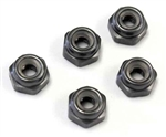 KYO1-N2630NA-GM Kyosho Aluminum Nylon Nut Gunmetal M2.6x3.0mm - package of 5