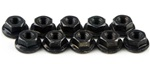 KYO1-N3037F Kyosho Steel Flanged Nut M3x3.7mm - Package of 10