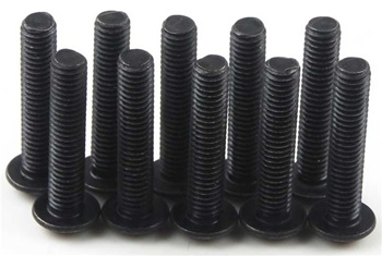 KYO1-S13015H Kyosho Button Hex Screw M3x15mm - package of 10