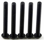 KYO1-S13025H Kyosho Button Hex Screw M3x25mm - package of 5