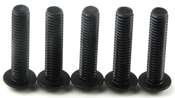 KYO1-S14018H Kyosho Button Hex Screw M4x18mm - package of 5
