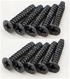 KYO1-S33015TP Kyosho Flat Head Self-Tapping Screw M3x15mm - Package of 10