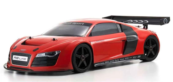 Kyosho Inferno Gt2 Race Spec Red Audi R8 Lms Readyset