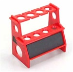 KYO36218B Kyosho Shock Rebuild Stand in Red