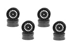 KYO92012-8BK Kyosho Aero 24 Wheel 15-Spoke in Black - Package of 8